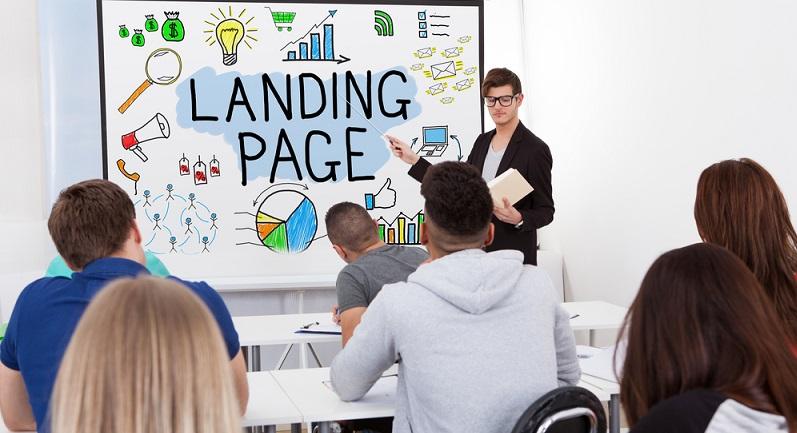 Eine Landingpage ist eine spezielle Webseite, auf die der Nutzer über einen externen Link gelangt, beispielsweise nach einem Mausklick auf einen Eintrag in einer Suchmaschine oder auf ein anderes Online-Werbemittel. (#01)