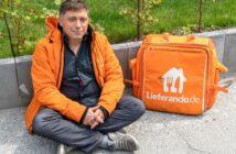 Lieferando Fahrer: Gehalt, Erfahrungen & Co ( Foto: shutterstock_Cineberg )