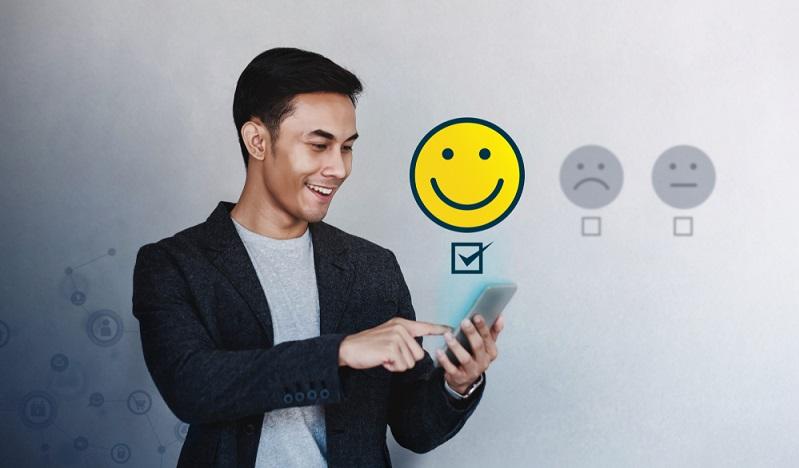 Zufriedene Kunden sorgen für gute Bewertungen. ( Foto: Shutterstock- Black Salmon )